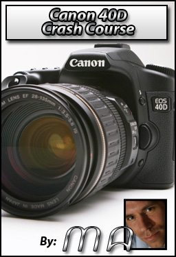 Canon 40 D Crash Course Download | Get it now!