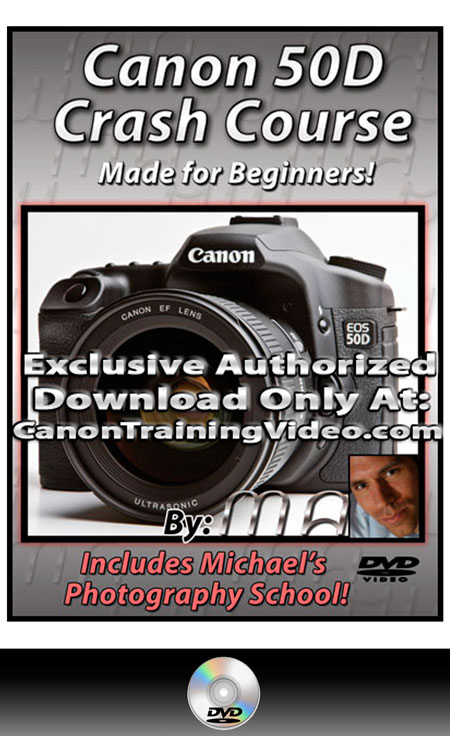 Canon 50D DVD Crash Course Training Guide DVD + Download