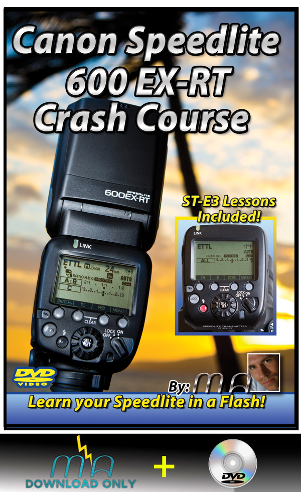 Canon 600EX-RT Speedlite Crash Course (DVD with Download)