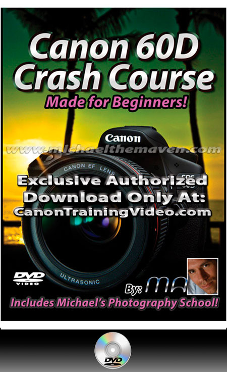 Canon 60D Crash Course DVD + Download
