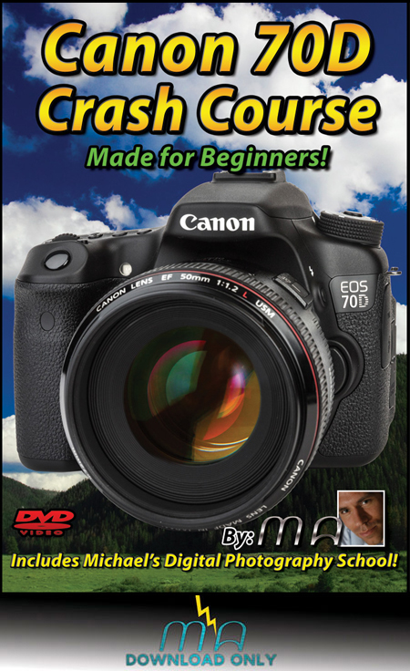 Canon 70D Crash Course Download [MTM-70D-DNLD]