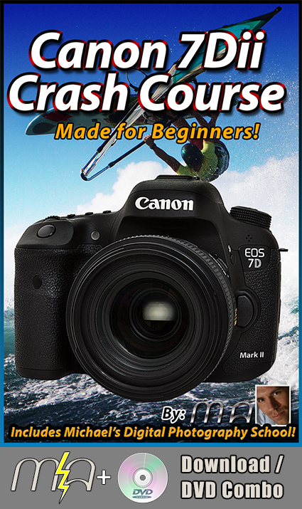 Canon 7Dii Training Tutorial DVD + Download