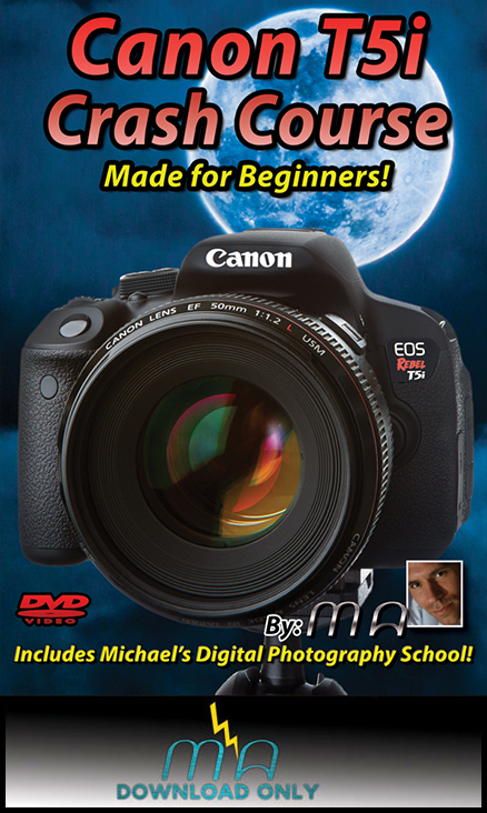 Canon Rebel T5i Crash Course --Download Only--