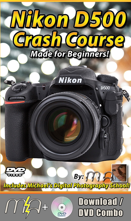 Nikon D500 Crash Course - DVD + Download