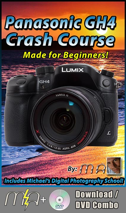 Panasonic GH4 Crash Course Training Guide DVD + Download