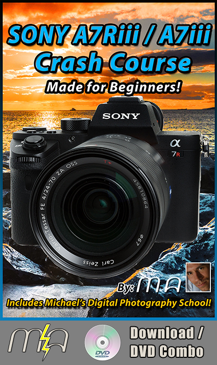 Sony A7Riii / Sony A7iii Crash Course - DVD + Download