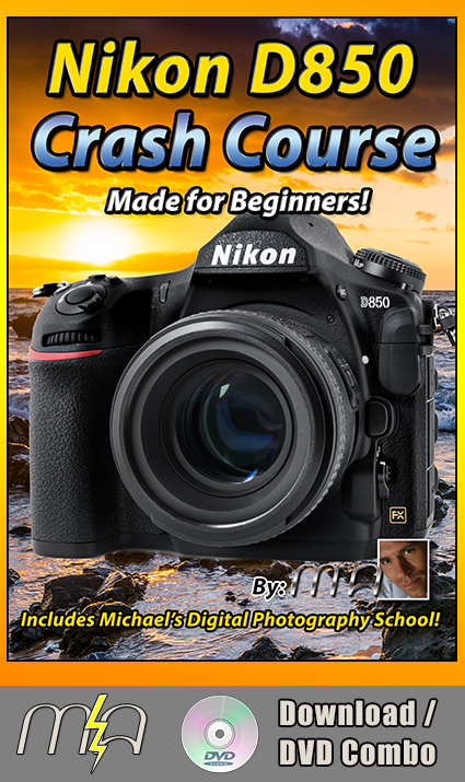 Nikon D850 Crash Course - DVD + Download