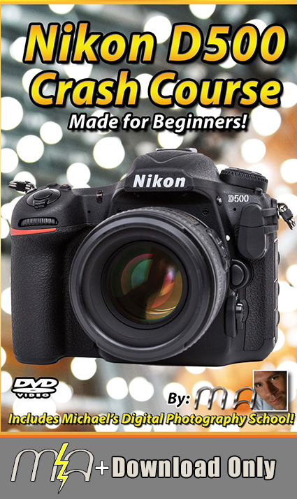 Nikon D500 Crash Course - Download Only