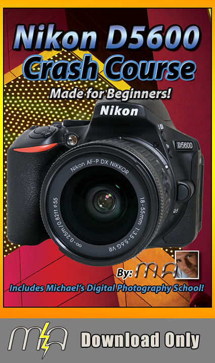 Nikon D5600 Crash Course - Download Only