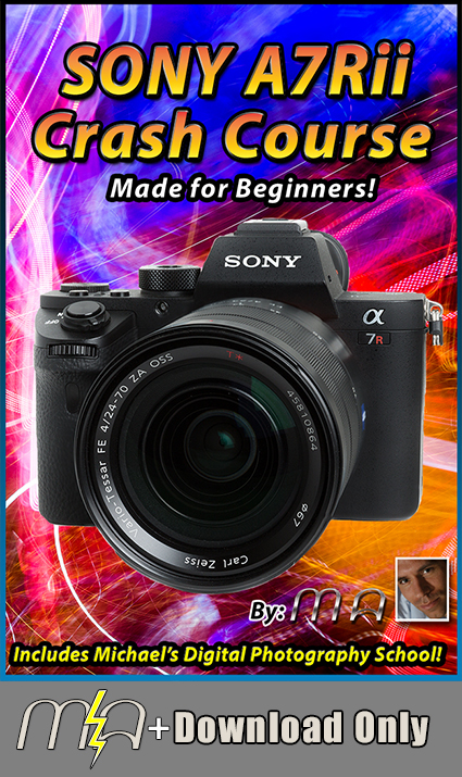 Sony A7Rii Crash Course Download Only