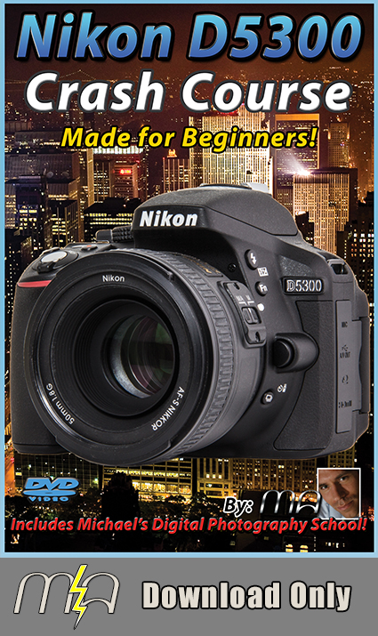 Nikon D5300 Crash Course - Download Only