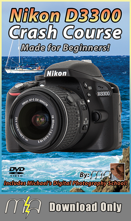 Nikon D3300 Crash Course --Download Only