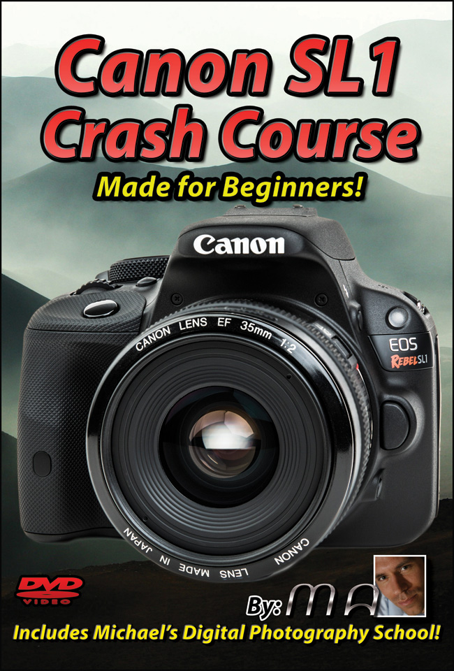 Canon Rebel SL1 Training Tutorial DVD & Download