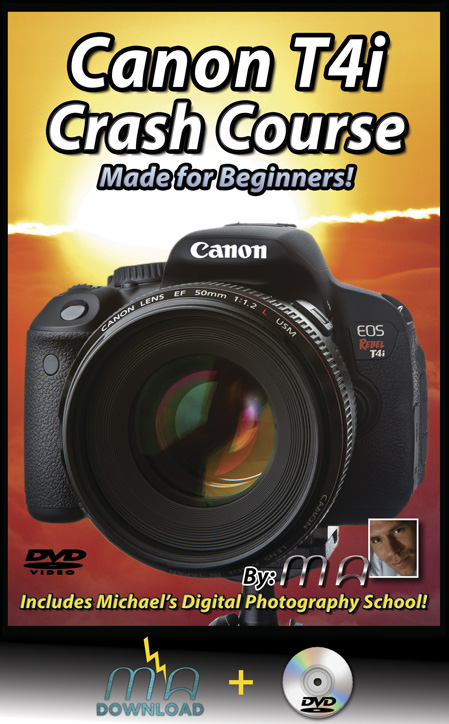 Canon Rebel T4i Crash Course ( DVD + Download)