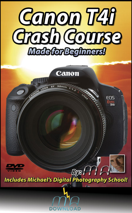 Canon Rebel T4i Crash Course --Download Only--