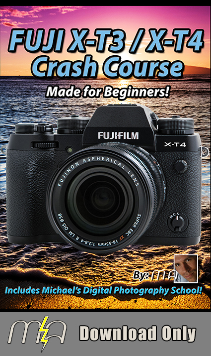 Fuji X-T3 / X-T4 Crash Course - Download Only